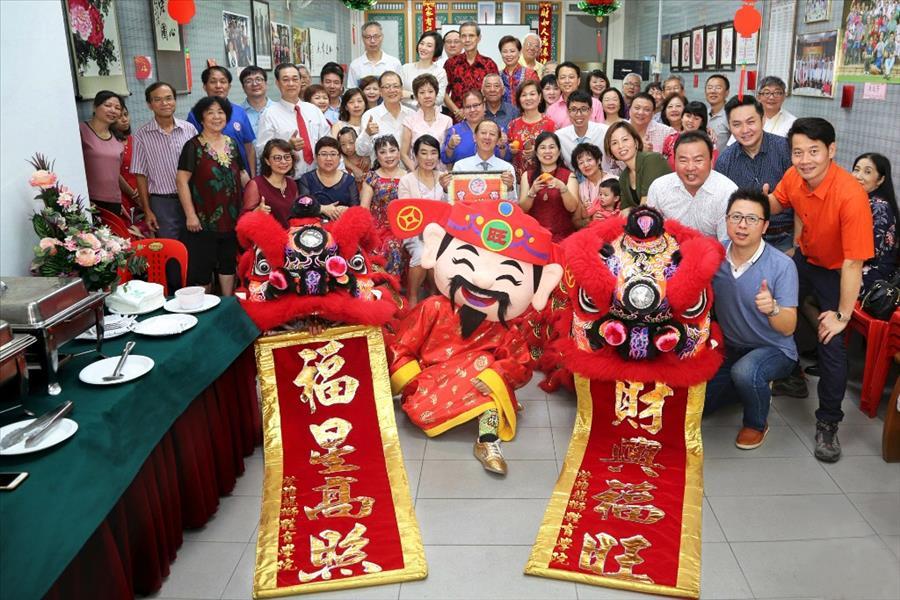 新加坡漳州总会2018年度会员大会以及新春贺岁