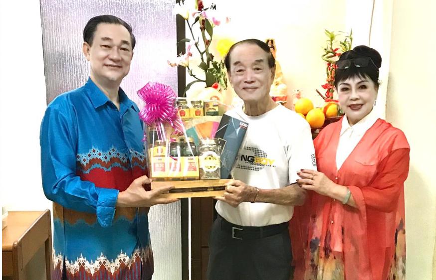 新春慰问漳州总会资深老会员以及百岁前主席